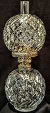 EAPG ANTIQUE MINIATURE OIL LAMP EARLY AMERICAN PATTERN GLASS 1880'S P & A Acorn