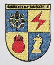 Marine écusson à broder MOS Bremerhaven - École des opérations navales A2710