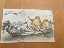 Vintage Easter Card - A Very Happy Easter To You Secret Puzzle Card