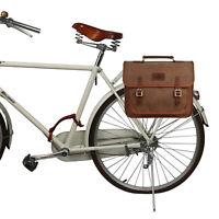 Tourbon Bike Rear Rack Bag Saddle Pack School Backpack Laptop Brief case Travel