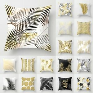 """18"""" Pillow Case Garden Cover Decoration Home Leaf Outdoor Floral Cushion"""