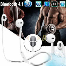 4.1 Bluetooth Sweatproof Wireless Earphones Headphones with Mic Sport Gym UK