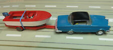 Faller Ams 4858 Mercedes 300 Se Coupé Avec Monobloc Et Remorque de Bateau