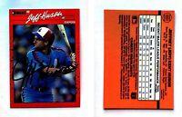 Jeff Huson Signed 1990 Donruss #693 Card Montreal Expos Auto Autograph