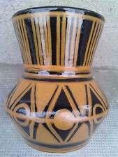 Vase Art Deco Signe BABOIN ST UZE ( saint ) terre cuite