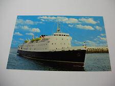 Lot65w - The MONA'S QUEEN Entering Douglas Harbour ISLE of MAN FERRY Postcard