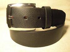 Ecko Unltd Mens Black Synthetic Leather Belt Sz 36