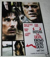 Before Devil Knows Youre Dead 11X15  Movie Promo Poster
