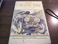 1982  OLDSMOBILE CUTLASS CIERA MODELS  ORIGINAL OWNERS MANUAL - EXCELLENT