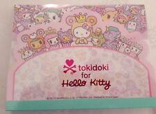 Sanrio Hello Kitty Notepad Tokidoki Tiered Blue