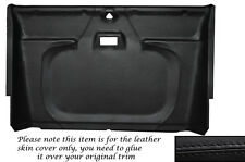 BLACK STITCH FRONT ROOF LINING HEADLINING COVER FITS LAND ROVER DEFENDER 90 110