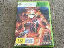 Ultimate MARVEL Vs CAPCOM 3 III (Microsoft Xbox 360, 2011) Aus Pal Complete