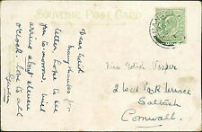Edith Vosper. 2 Well Park Terrace, Saltash, Cornwall - 'Gwen'  RJ.450