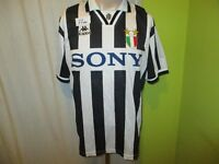 "Juventus Turin Original Kappa Heim Trikot 1995-1997 ""SONY"" Gr.L"