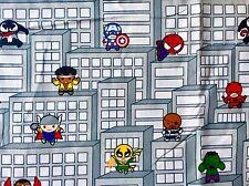 FQ Marvel Spiderman Hulk Captain America Ironman Thor SUPEREROI in tessuto