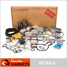 89-93 Mitsubishi Montero Mighty Max Dodge Ram 3.0L SOHC Engine Rebuild Kit 6G72