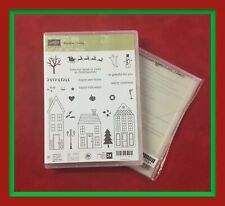 Stampin Up! HOLIDAY HOME Stamps & HOMEMADE HOLIDAY Framelits ***NEW***