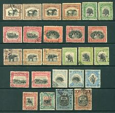 Old Malaya North Borneo  selection of 26 x  stamps Used