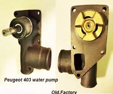 * PEUGEOT 403  water pump (iron body)  NEW RECENTLY MADE