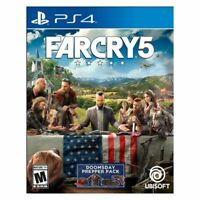 Far Cry 5 USED SEALED (Sony PlayStation 4, 2018) PS4