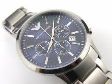 AR2448 Mens Armani Chrono Stainless Steel Bracelet Watch - 50m