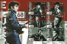 Elvis Presley $1.40 Mustique St Vincent Grenadines Souvenir Stamp Sheet 6 Stamps