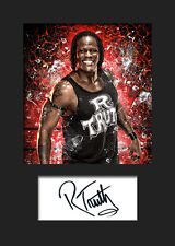 R-TRUTH #3 (WWE) Signed Photo A5 Mounted Print - FREE DELIVERY