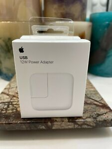 Apple 12W USB Power Adapter NIB MFG SEALED
