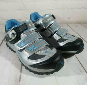 Pearl iZumi Womens EUR 37/ USA 6.5 Enduro 2 Ride Run Cycling Shoes (5786) Blue