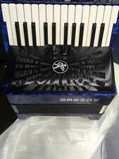 (brand new) HOHNER BRAVO II accordion 48base with two colour (blue/black)