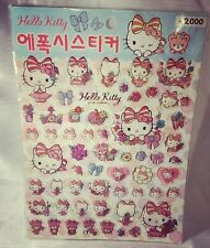 A Very Cute Sheet Of Sanrio Hello Kitty 2015 Made In Korea Stickers
