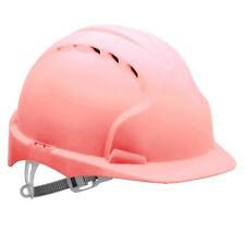 Pink JSP EVO2 vented mid peak comfort hard hat safety helmet hen nights