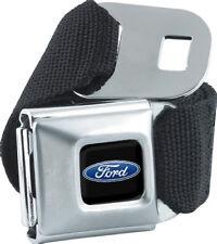Seat Belt Buckle for Pants Men Women Kids Ford Blue Oval FEB Black