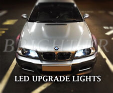2x BMW 3 SERIES E46 BRIGHT XENON WHITE LED SIDE LIGHT BULBS -ERROR FREE
