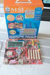 MSI 865PE Neo2-FISR Pentium 4 Socket 478 Motherboard