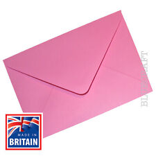 12 pack x A6 C6 Candy Pink 100gsm Premium Envelopes 114 x 162mm - 6 x 4""