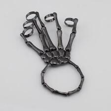 Hand Skull Skeleton Elastic Bracelet Bangle Unique Fashion Style Costume Play Rch1 Black