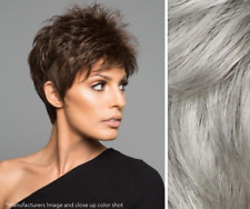 Imperfect Raquel Welch Power Wig - Synthetic - Mono Crown - Color R56/60 Silver