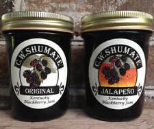 Blackberry Jam Combo C.W. SHUMATE Original & Jalapeño Kentucky Fruit Preserves