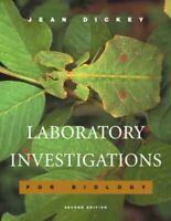 Laboratory Investigations for Biology, Paperback by Dickey, Jean, Brand New, ...