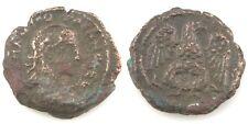 238-244 AD Romain Égypte Billon Tetradrachm pièce de monnaie ( rev : VF Gardien