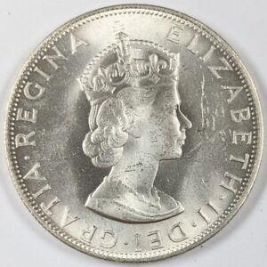 1964 Bermuda Silver Crown UNC 190266B