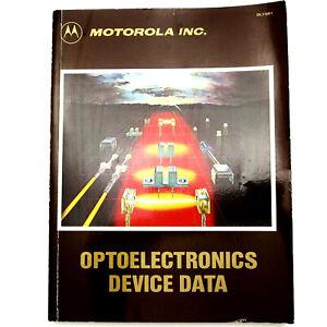 MOTOROLA OPTOELECTRONICS DEVICE DATA 1983 Vtg Book DL118R1 Manual Fiber Optics +