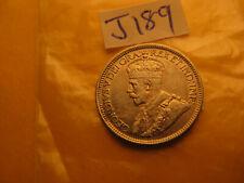 Canada 1919 High Grade 10 Cent Rare Silver Coin IDJ189.