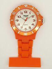 Enfermera Fob Watch Naranja Prince NY London F83
