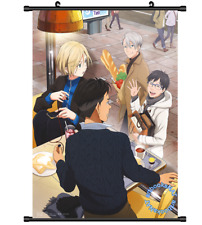 3613 Anime Yuri On Ice Victor Wall Poster Scroll cosplay
