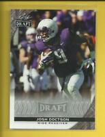 Josh Doctson RC  2016 Leaf Draft Rookie Card # 47 Washington Redskins TCU WR
