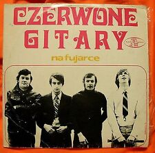 CZERWONE GITARY – NA FUJARCE, MUZA PL press 1970, Pop Rock
