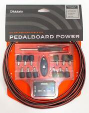 D'Addario DIY Solderless Pedalboard Power Cable Kit - Brand New