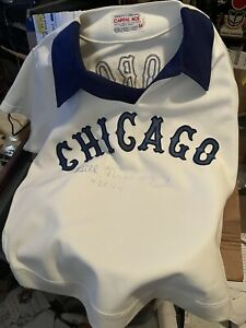 Bill Nahorodny Chicago White Sox game worn used jersey